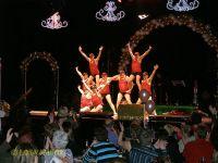 Los Vambos auf der Bühne